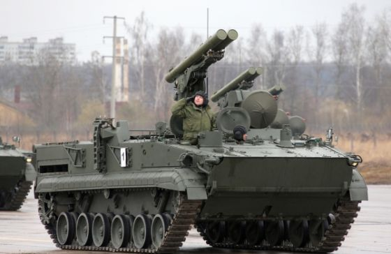 Хризантема-С против танков
