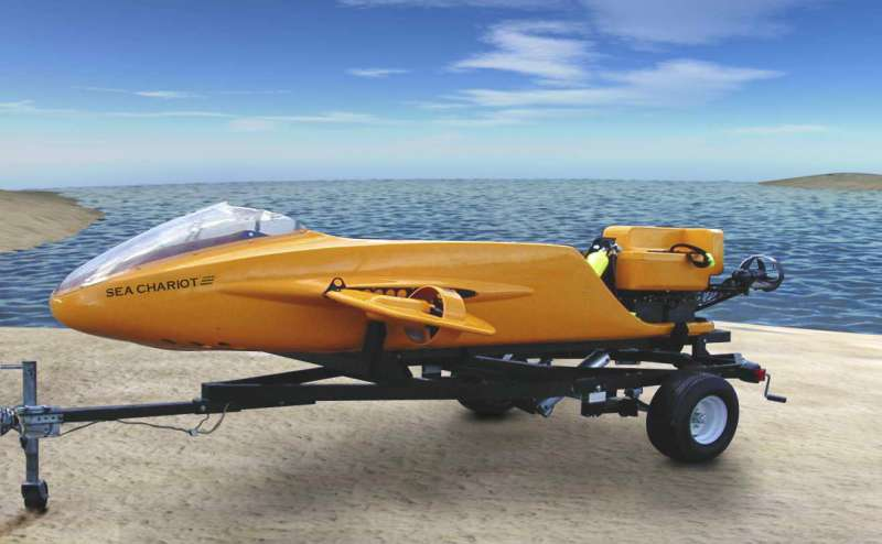 Sea Chariot DPV морской аппарат
