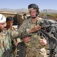 Афганские военные остались без обуви