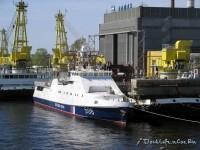 В Петербурге спущен на воду очередной сторожевой корабль для ФСБ