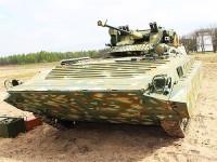 Житомирский бронетанковый завод показал новый вариант модернизированной боевой машины БМП-1УМ