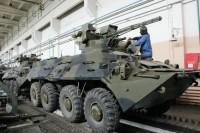 Киевский бронетанковый завод продемонстрировал возможности БТР-3