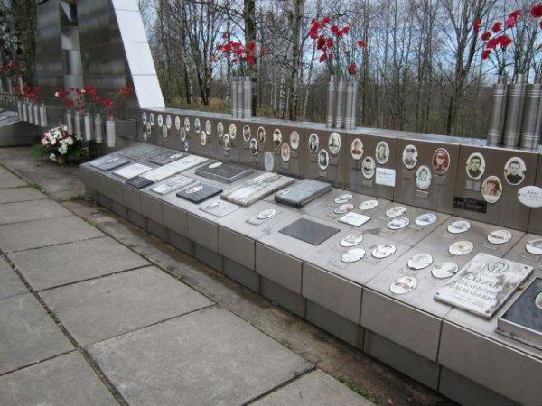 На Синявинских высотах захоронили останки 1211 павших военных