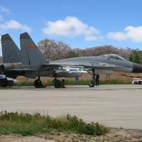 На востоке Китая истребитель вооруженных сил упал на крышу фабрики