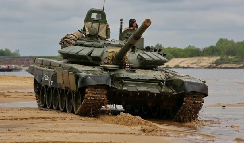 Танки Т-72Б3 начнут поступать в ВДВ России во второй половине 2016 года