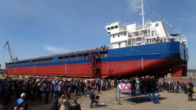 Формирование нового облика ВМФ России началось со вспомогательных судов