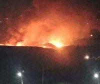 Израиль бомбил военный аэродром вблизи Дамаска