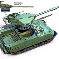 Украли: на Украине запатентована копия танка «Армата»