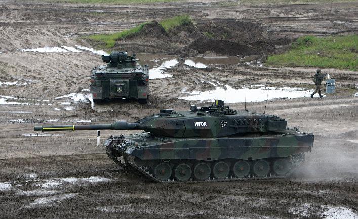 Боевики ИГИЛ разрушили миф о немецких танках