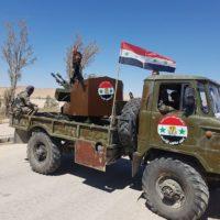 """В Сирии легендарная """"Шишига"""" сражается с терроризмом"""