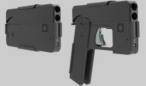 В США выпустят пистолет в виде iPhone с 9-миллиметровым стволом