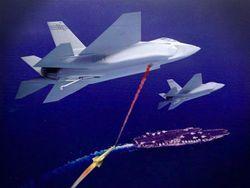 Американские истребители будут защищаться от противника лазерами