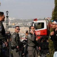 Грузовик в израильских военных направил палестинец