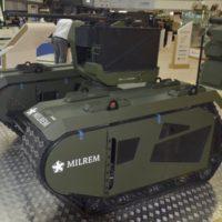 Эстонские разработчики представили в Абу-Даби боевой сухопутный беспилотник