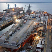 На Окинаве возобновилось строительство американской военной базы