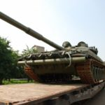 В Подмосковье военные получили новейшие танки Т-72Б3