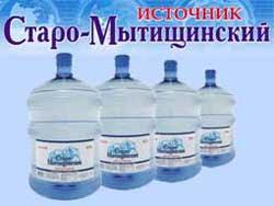 """Вода питьевая """"Источник Старо - Мытищенский"""""""